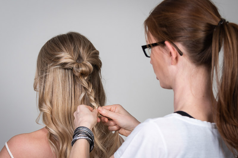 frisuren mit tape extensions